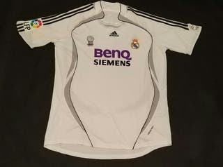 camiseta match worn real Madrid Raúl formotion