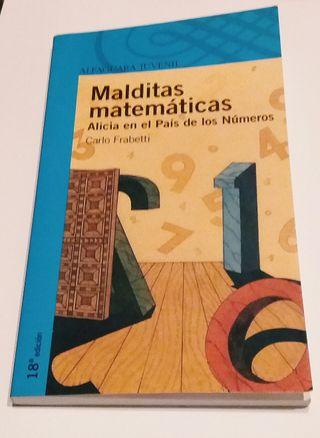 libro: Malditas matemáticas de Carlo Frabetti