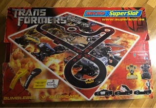 Scalextric transformers superslot.
