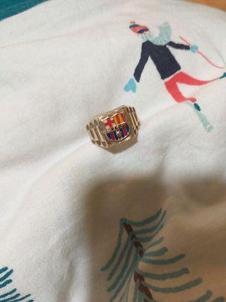 anillo oro hombre