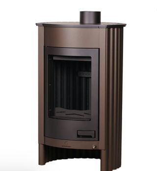 Estufa de leña diseño Italiano