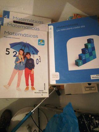 Libro texto matemáticas 4° primaria