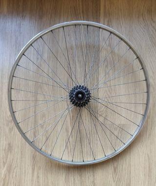 """Rueda trasera 700 26"""" bicicleta clásica"""