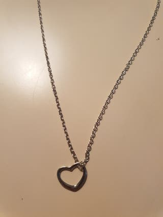 silver Heart necklace for sale