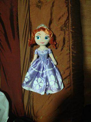 Muñeca disney princesa Sofia, de trapo