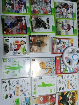 JUEGOS WII, PS3, XBOX 360, PSP