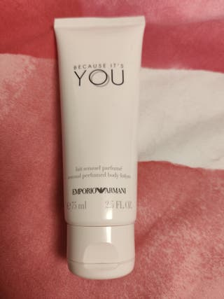 Body lotion Because it's you