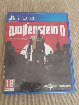 Wolfenstein II PS4