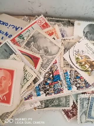lotes de sellos antiguo variados