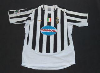 camiseta match worn Juventus del Piero 2006