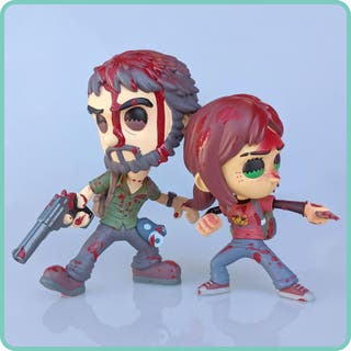 Figuras Joel Y Ellie The Last of us Exclusiva