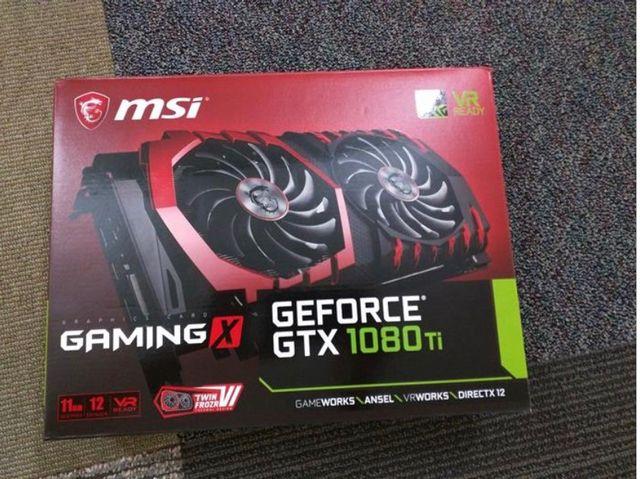 MSI GTX 1080Ti 11GB