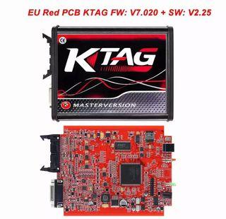 KTAG UE rojo V7.020 V2.25 programador escáner