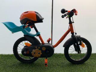 Bicicleta para niños de 3 a 5 años en buen estado