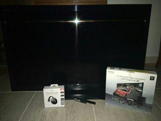 """TV Sony Bravia 40"""" 3D con gafas y Google Crome"""