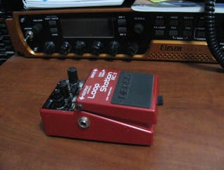 Pedal loop station boss rc2