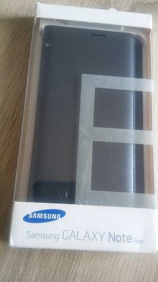 Funda Samsung Galaxy Note Edge nueva Gris oscura