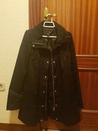 Abrigo negro de mujer Talla S de H&M