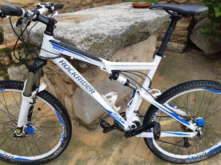 bicicleta btt rockrider xl doble suspensió