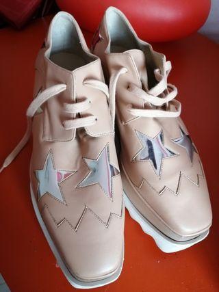 zapatos cordones Stella McCartney