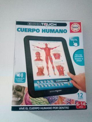 juego cuerpo humano de Educa