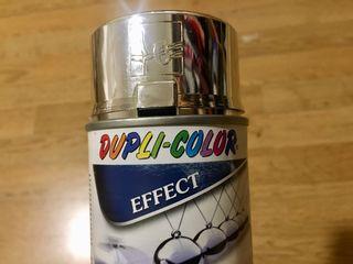 Spray pintura plata