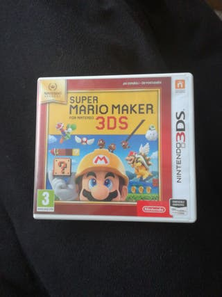 Juego nintendo 3ds, Super Mario Maker 3ds.
