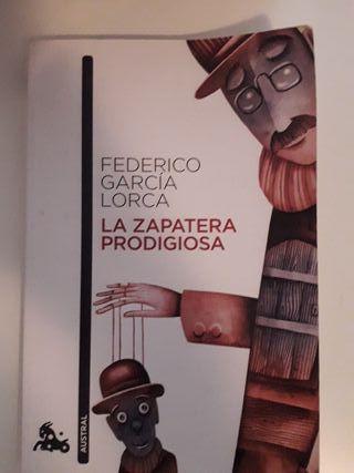 libro la zapatera prodigiosa (Federico lorca)