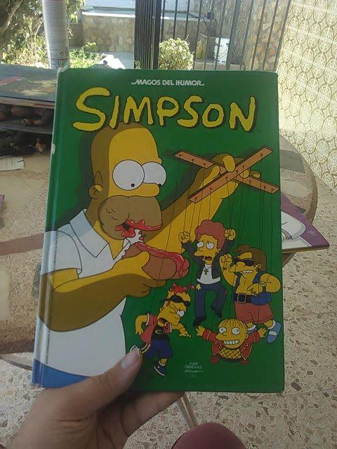 Comic de los simpson