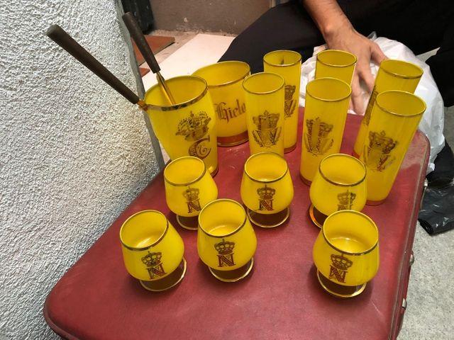 Juego de licor vintage
