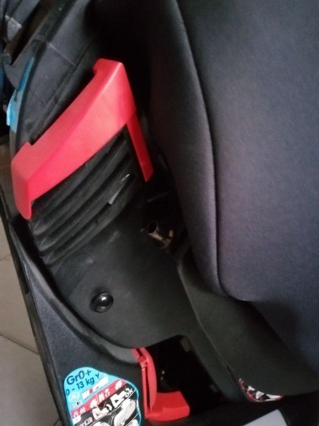 sillón de bebé para el coche