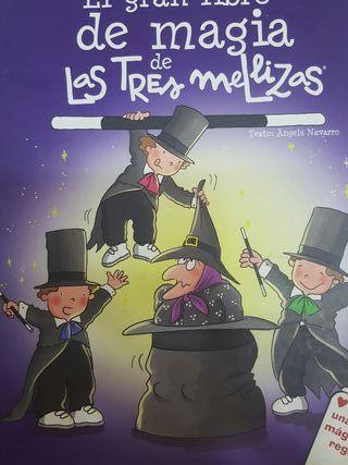 El gran libro de magia de las tres mellizas