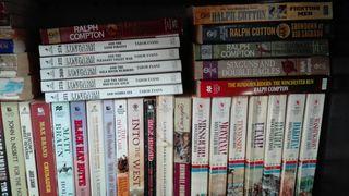 Novelas del oeste (western) en ingles