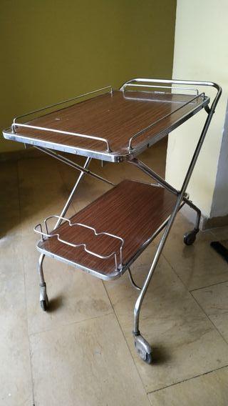 Mesa carrito vintage