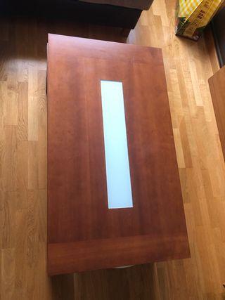 Mesa de centro abatible 115 x 65 cm