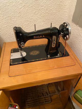 Sigma Maquina de coser antigua