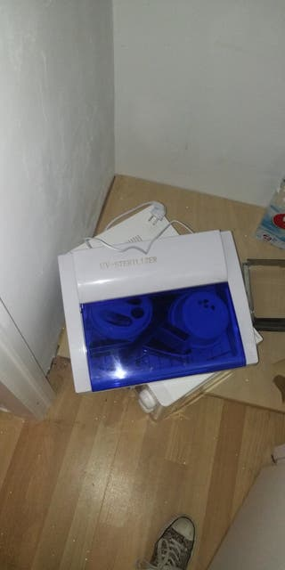 Esterilizador luz azul