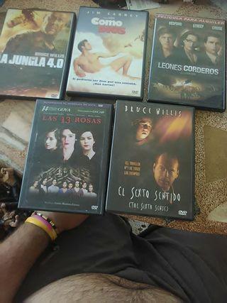 Carátula de peliculas DVD sin disco