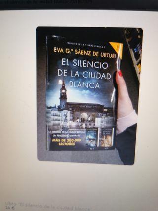 """Libro nuevo """"El silencio de la ciudad blanca"""""""