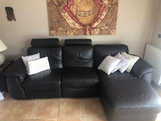 Sofa Chaise Longue Natuzzi.