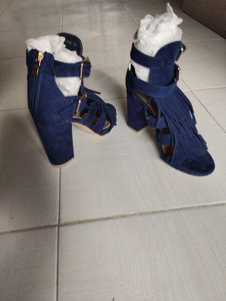 Sandalias Azul Klein