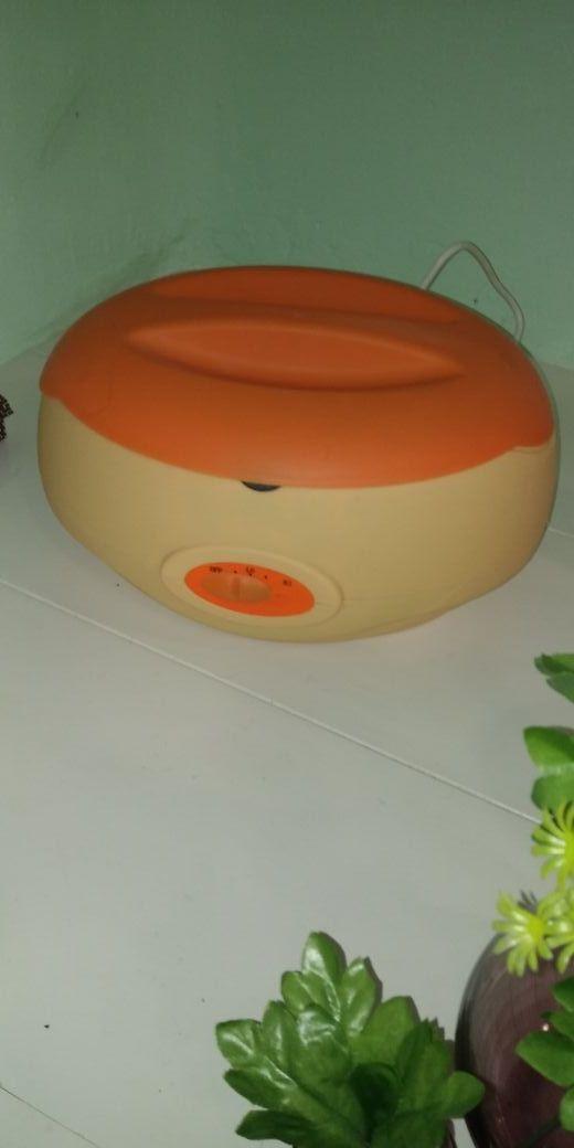 Calentador de parafina