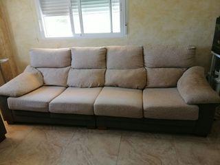 2 sofas de 4 y 2 plazas