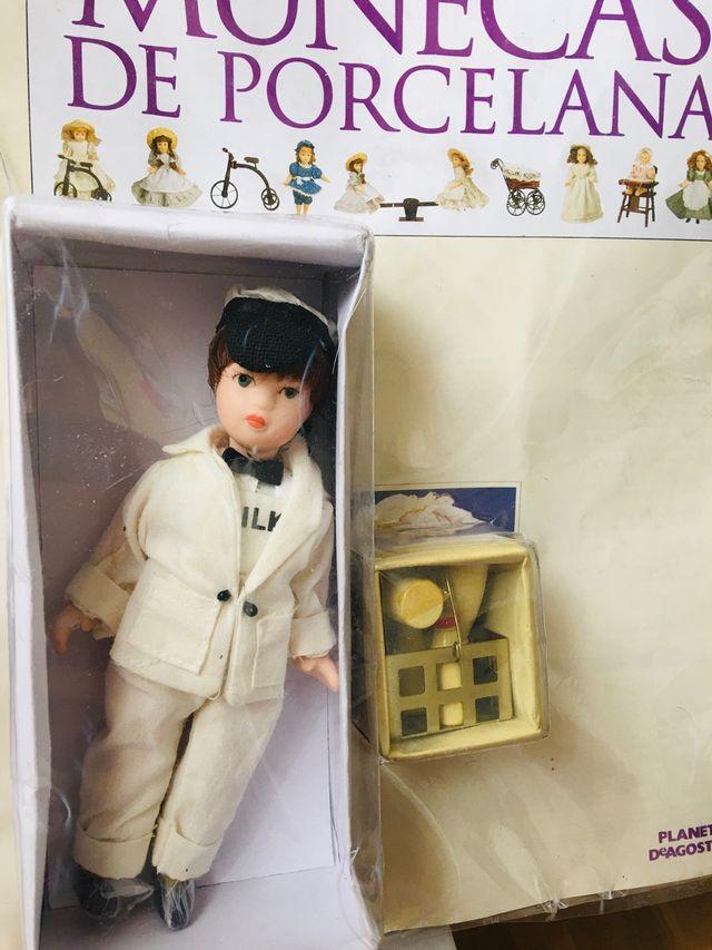 Muñeca de porcelana coleccion