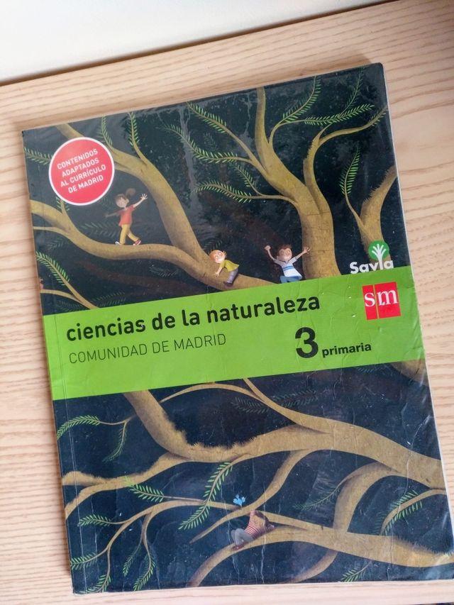 Libro Ciencias de la Naturaleza 3º Primaria