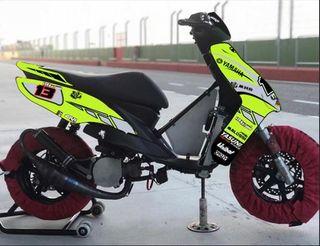 Yamaha Jog rr competición (despiece)
