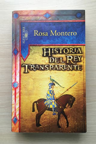 """Novela """"Historia del rey transparente"""""""