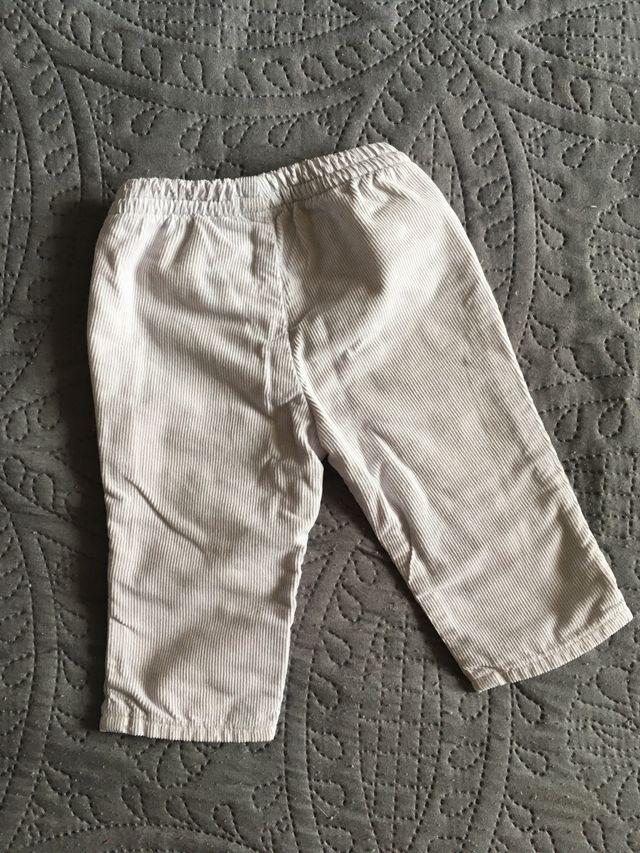 Pantalón de pana bebé