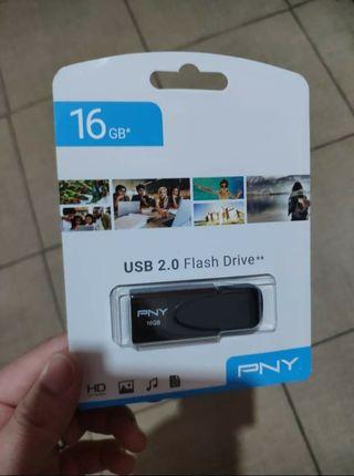 USB memoria Pen Drive Nuevo sin uso 16gb 2.0