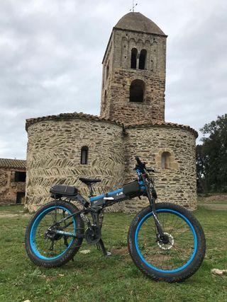 Fat bike-bicicleta eléctrica+1 batería extra